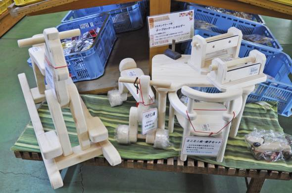 14木工玩具たち